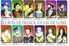 Rois de France en Val de Loire