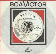 KENNY CARTER Gotta Get Myself Together NORTHERN SOUL R&B WLP PROMO 45 RPM RECORD
