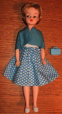 "Camay fashion doll Clone w Babs Fab-Lu Randy Fashion Dress ""Everybody's Sweetheart"""