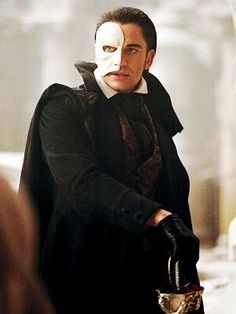 Gerard Butler [as Erik, the Phantom] #ThePhantomOfTheOpera