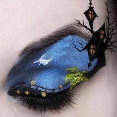 interesting halloween makeup