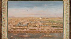 """44- Palais Bourbon vers 1780. § LOUISE-FRANCOISE DE BOURBON: .. cet époux détesté. Mde de Caylus la décrivait ainsi """"ses graces et ses charmes sont bien au-dessus de mes éloges, ce n'est pourtant ni une taille sans défaut, ni ce qu'on appelle une beauté parfaire; ce n'est pas non plus à ce que je crois un esprit d'une étendue infinie"""". Louise-Françoise devint alors """"Madame la duchesse douairière"""". Elle était devenue très proche de son demi-frère, le Grand-Dauphin mais celui-ci mourut en ...."""
