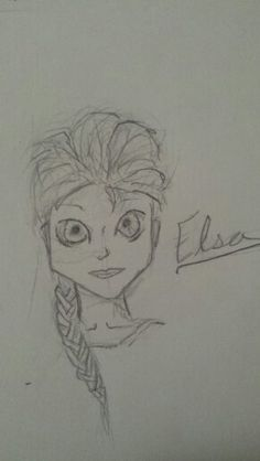 Elsa frozen I decided to put closeups of each drawing. This was done by kaelbear