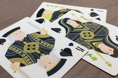 spades courts. Essentia Playing Cards, now live on Kickstarter. Flat design cards, great for collectors and players.