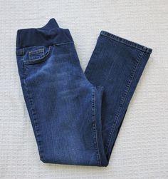 Motherhood Blue Maternity Jeans Size L #MotherhoodMaternity #Relaxed
