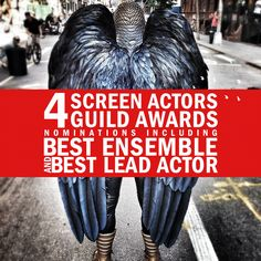 Congratulations to for leading this year's Screen Actors Guild Awards nominations with FOUR nods! Outstanding Performance by a Male Actor in a Leading Role: Michael Keaton Edward Norton, Broadway Plays, Michael Keaton, Comedy, Awards, It Cast, Actors, Emma Stone, Congratulations