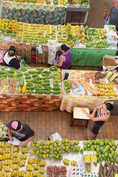 Papeete Market, French Polynesia