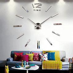 acctim mika – horloge murale noire horloge murale avec