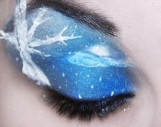 Eye of the winter night.
