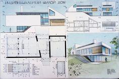 архитектурные подачи акварель - Поиск в Google