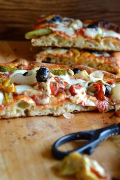 Pizza Recipes, Vegetarian Recipes, Focaccia Pizza, Vegan Pizza, Quiche, Snacks, Pizza Dough, Soul Food, Vegetable Pizza
