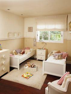 Un dormitorio para gemelos