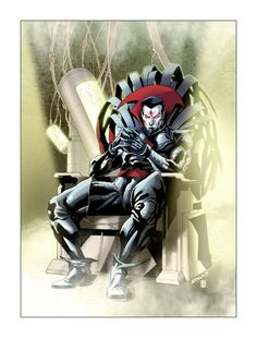 Mister Sinister, color by Gabriel-Cassata, Pencil and Inks by Robert Atkins