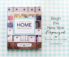 The Complete Book of Home Organization by Toni Hammersley #organized #homeorganization