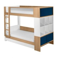 Sleeping in a bunk beds, kids get so excited. Bunk beds offer a practical solution for smaller kids bedrooms. We have a large selection of bunk beds for kids - at truly phenomenal prices. Make bedroom a place they enjoy to be in. Bunk Beds With Storage, Bunk Beds With Stairs, Cool Bunk Beds, Kids Bunk Beds, Cubby Storage, Storage Drawers, Extra Storage, Storage Cubes, Storage Systems