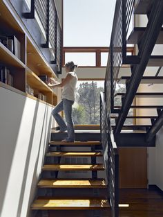 Cantilevered Treads Design, Pictures, Remodel, Decor and Ideas - page 4