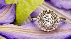 Unbelievably Gorgeous Vintage Diamond Ring--Brilliant Earth