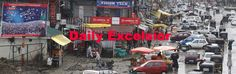 Vehicles plying on roads after authorities lifted curfew in Srinagar.Excelsior Photo