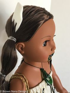 DIY resin casting doll accessories, Maori Dolls and Maori culture focusing on the indigenous people of New Zealand.