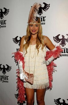 Lauren Conrad went back in time for her flapper costume in LA in 2008. Source: Getty