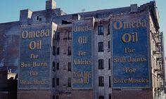 Omega Oil ghost sign