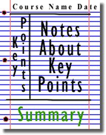 If you can keep up with the teacher and understand what to write, but feel your notes are all over the place try using Cornell Notes. Draw three lines in the shape of a capital letter I as depicted in the picture. Place the bulk of the notes in the large section on the right, key points to the left, course name at the top, and questions and concerns to follow up with professor, online discussions,etc. at the bottom. Check out The Learning Toolbox at Cornell for other useful strategies.