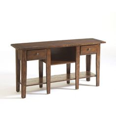 Attic Rustic Sofa Table by Broyhill