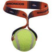 Denver Broncos Tennis Ball Dog Toy #NFL #NFLDogProducts #NFLPetProducts #DogProducts #PetProducts #DenverBroncos #DenverBroncosDogs #DenverBroncosPets #Broncos #Animals #Dogs #Pets #AdorabullBulldogs #PawsativeParent