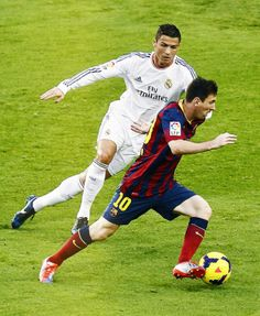 CR7 and Messi - El Clasico 10/26/2013