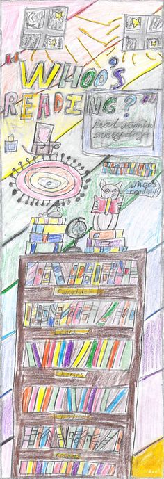 """""""Whoo's Reading?"""" by Lilia 