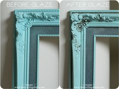 Martha Stewart Glazing Techniques | ... Framed Gallery Wall for Mother's Day {with Martha Stewart Crafts