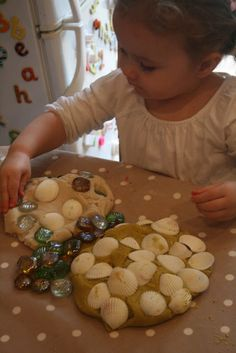The Imagination Tree: Sand Play Dough - no cook recipe