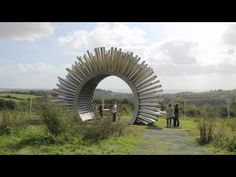 Aeolus at The Eden Project - Acustic Wind Pavilion - YouTube