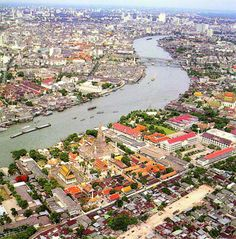 Bangkok, Thailand.  You can rent a long tail boat for about $20 and spend the day touring the Chao Phraya River, it's an excellent way to see more of the 'real' Bangkok