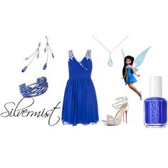 """Disney Prom- Silvermist"" by shadowphoenix on Polyvore"