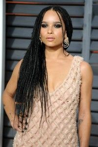 Zoe Kravitz opted for the de GRISOGONO to adron her body in the Academy Awards