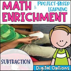 Math Enrichment and Project Based Learning for Subtraction | TpT