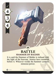 Item card design