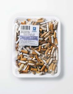For Ocean Pollution Awareness: Used Condoms, Cigarette Butts 'Sold' At Markets -- The Surfrider Foundation worked with Saatchi & Saatchi LA to create an awareness campaign that draws attention to how disgusting ocean pollution really is. Ocean Pollution, Plastic Pollution, Saatchi & Saatchi, Anti Smoking, Smoking Kills, Trash Art, Environmental Art, Conceptual Art, Art Photography