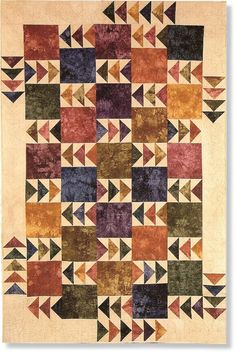 Geese in the Fields Pattern by Far-Flung Quilts