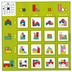 Montessori Math, Preschool Learning Activities, Educational Activities, Fun Learning, Preschool Activities, Card Games For Kids, Games For Toddlers, Visual Perception Activities, Sight Word Games