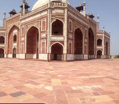 The unique architecture of Gajsinghpur in Rajasthan.
