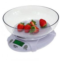 Kitchen Home House Food Balance Weight With Bowl LED Backlight HB88 7 KG-1G Digital Electronic Scale