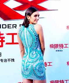 Nina Dobrev attends the xXx: Return of Xander Cage premiere in China on February 9, 2017