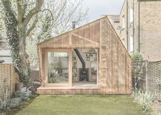 Cedar Clad Fairytale Writer's Shed by Weston, Surman & Deane -- Would love to have a Sewing/Craft Shed
