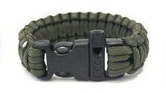 Paracord bracelet with whistle WEAR IT – SURVIVE IT – UNRAVEL IT !! New. UK | eBay £3.99