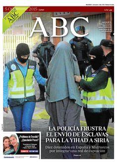 La portada de ABC del lunes 5 de octubre
