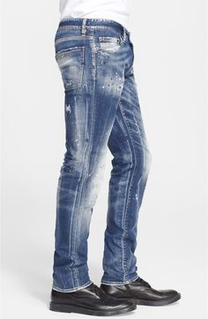 Ripped Jeans Men, Denim Skinny Jeans, Men's Jeans, Black Jeans, Streetwear Jeans, Men Trousers, Best Jeans, Denim Outfit, Denim Fashion