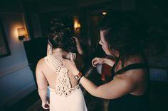 Bowery Hotel | Bride Dress: Maje Armance