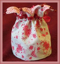 Princess Crown Bag Sewing Tutorial and Free ePattern